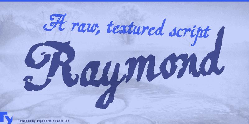 font-raymond-1-1x