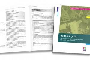 Przygotowanie DTP książki Badania rynku