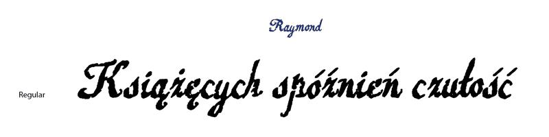 font-raymond-2-1x